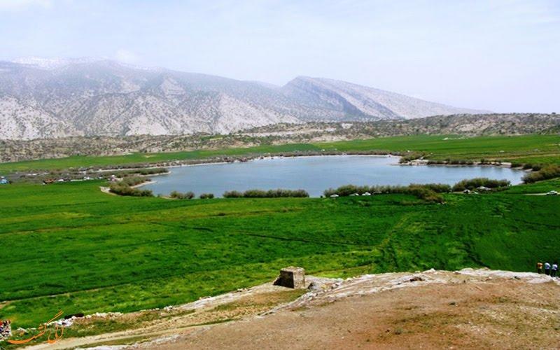 دریاچه برم الوان