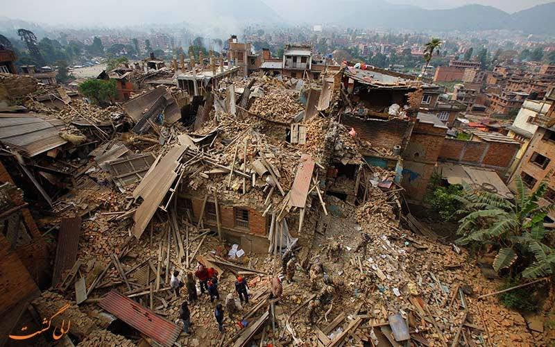 زلزله چگونه اتفاق می افتد